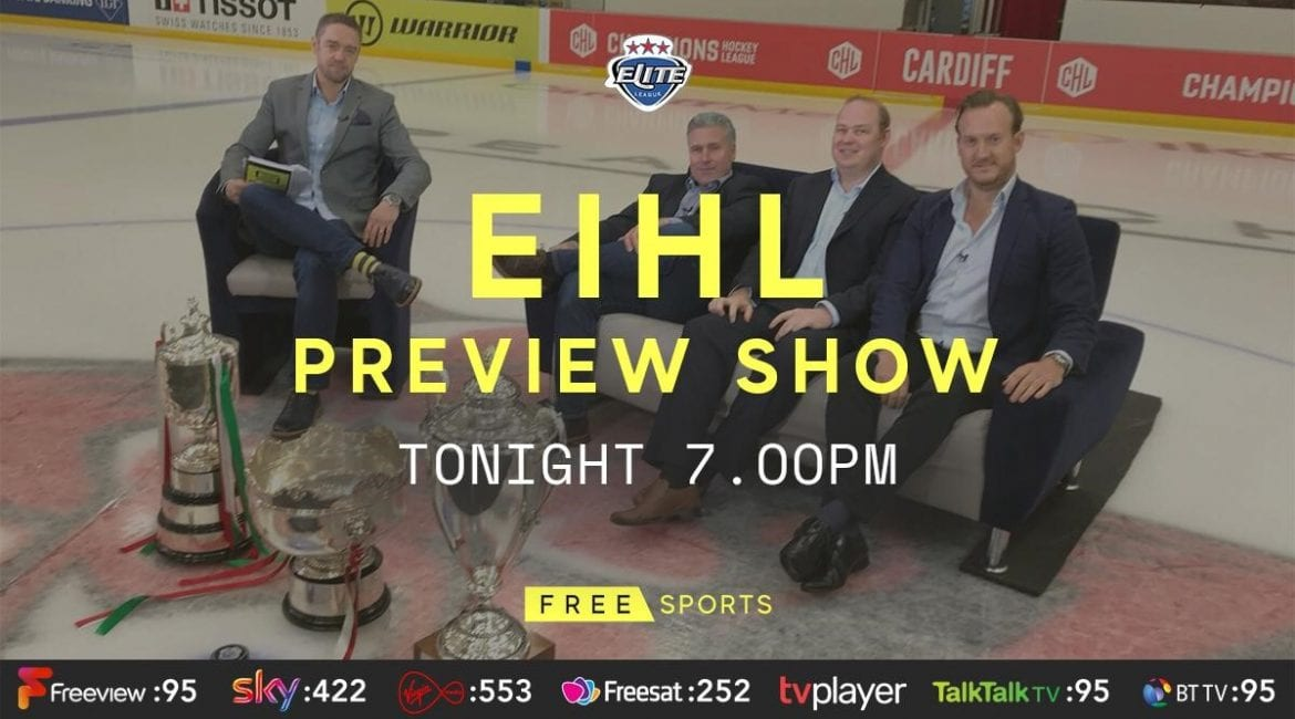 WATCH: EIHL Preview Show on FreeSports THIS FRIDAY | Glasgow